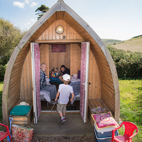 Dog Friendly Camping Pods